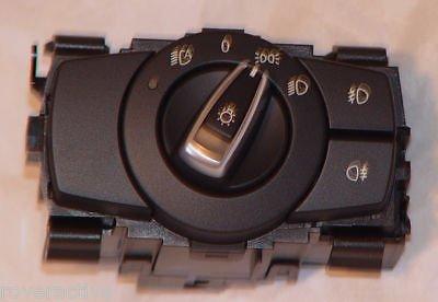 M3 Euro Light Control Switch New BMW Brand OEM E90 E91 E92 E93 3 Series 2006