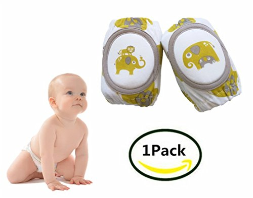 Price comparison product image Breathable Adjustable Baby Knee Pads,Baby Crawling Anti-Slip Knee by EDCMaker