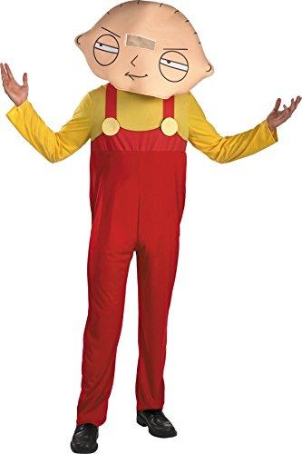 [Stewie Adult Costume - X-Large - Chest Size 42-46] (Stewie Head Costume)
