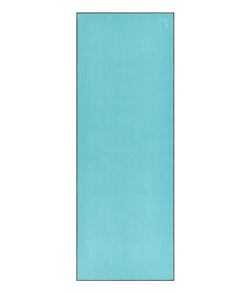 Manduka eQua Yoga Mat Towel, Thunder, 72