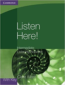 Book Listen Here! Intermediate Listening Activities with Key (Georgian Press)