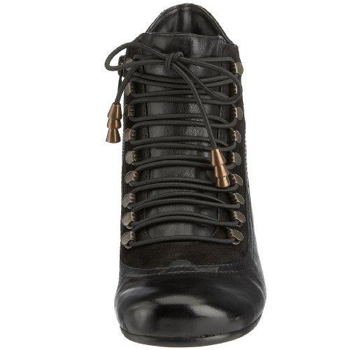 Hush Puppies Vivianna - Botines de caña alta con tacón para mujer Negro (Black/Multi)