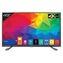 Kevin 124.5 cm  49 Inches  4K UHD LED Smart TV KN49UHD  Black  Smart Televisions