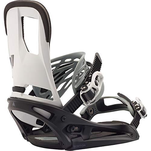 Burton Cartel EST Snowboard Binding Black/White, - Cartel Est Binding