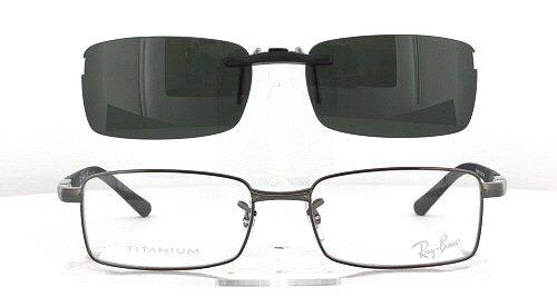 ray ban clip on shades
