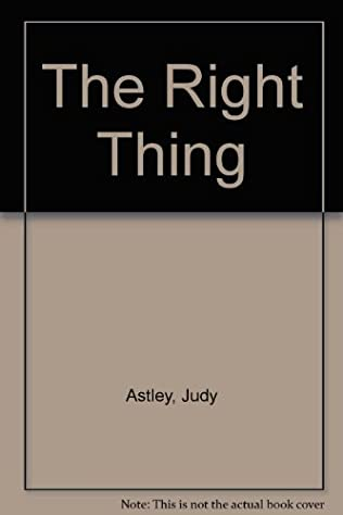 book cover of The Right Thing