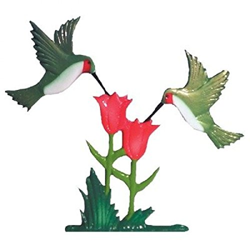 Whitehall Products Traditional Directions - Whitehall Products Hummingbirds Weathervane, 30-Inch, Rooftop Color