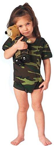 Rothco Infant One Piece Bodysuit, Woodland Camo, 42259