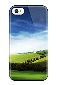 New Style Tpu 4/4s Protective Case Cover/ Iphone Case - Heights Of Dream