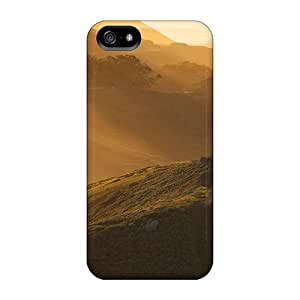 TinaMacKenzie Perfect Cases For Iphone 5/5s/ Anti-scratch Protector Cases (sunny Morning Over The Hills)