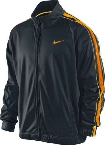 Nike Men's Practice OT Full Zip Jacket 411218-067 Gray/Yellow Size XL by Nike