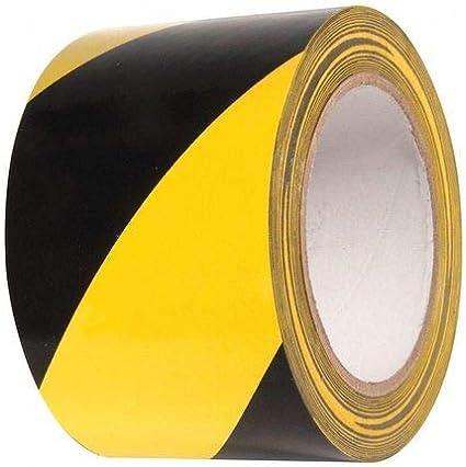 3x108ft Yellow//Black Hazard Markng Tape
