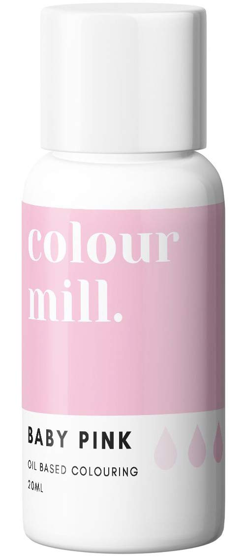 Colour Mill Oil-Based Food Coloring, 20 Milliliters Baby Pink