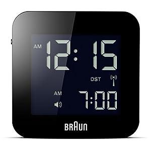 BRAUN BNC008BK-RC - Reloj Despertador Digital Negro 1