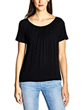 Street One 313541 Camiseta, Negro (Black 10001), 40 (Talla del Fabricante: 38) para Mujer