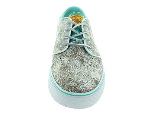 Nike Zoom Stefan Janoski Elite, Zapatillas de Skateboarding para Hombre white black hyper jade 110