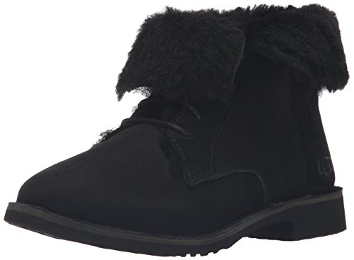 UGG Women's Quincy Winter Boot, Black, 6.5 B US