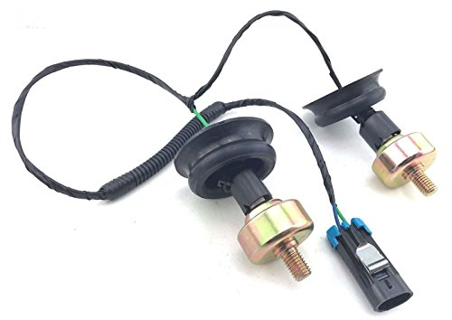 97-04 GMC KNOCK SENSORS w/ WIRE HARNESS KIT & CONNECTORS FOR 6.0 5.3 4.8 8.1 GM (Camaro Door Skin)