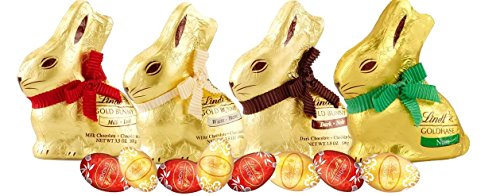 Lindt Chocolate Easter Ready Gold Bunny and Egg Bundle