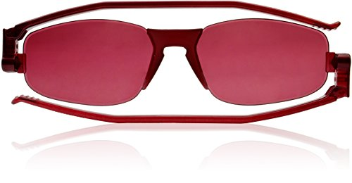 Nannini Solemio Kiss, Wild Colorful Flat Folding Sunglasses (Hot - Men For Sunglasses Hip