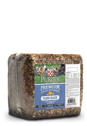 Purina Flock Block Supplement, 25 Pounds