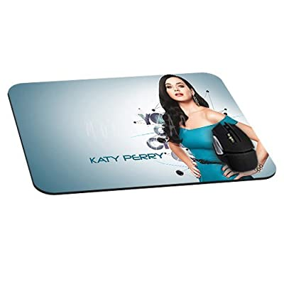 Beautiful Katy Perry Mousepad actor actress celebrity Mouse Pads Diy Mat Unique Design Custom Mousemat