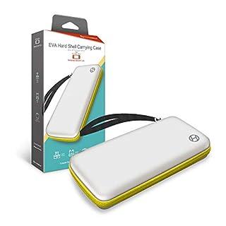 Hyperkin EVA Hard Shell Carrying Case for Nintendo Switch Lite (White/ Yellow)