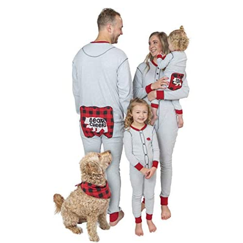 and Adults Teens Matching Pajamas for The Dog Baby /& Kids Lazy One Family Sets