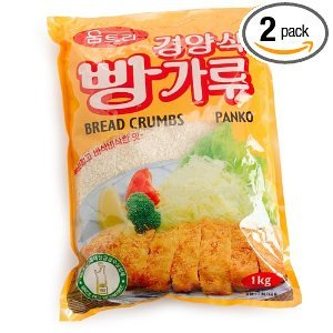 Panko Bread Crumbs Bags, 2.2LB (Pack of 10)