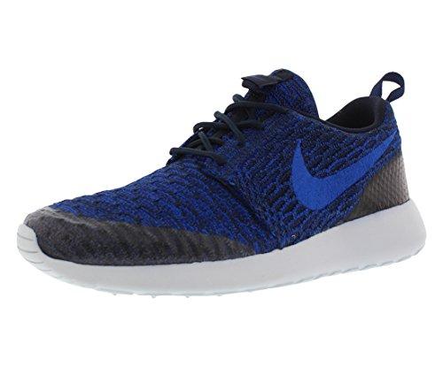 Nike Women's Rosherun Flyknit Running Shoes (8.5 B(M) US, Racer Blue Deep Royal Blue 403)
