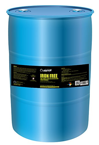 Nanoskin (NA-IFE3840) Iron Free Paint, Wheel And Glass Decontamination Fall Out Remover - 30 Gallon