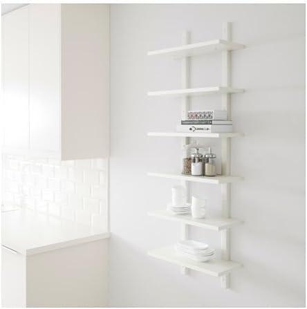 IKEA – estante de pared, blanco 426.14511.1438: Amazon.es ...
