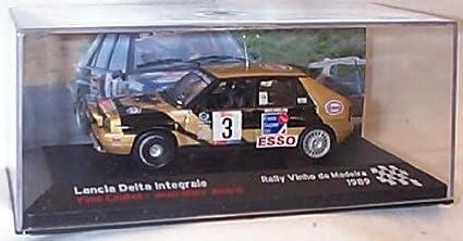 ixo lancia delta integrale 1989 rally car 1.43 scale diecast model by ixo