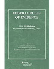 Federal Rules of Evidence,: 2015-2016 with Evidence Map