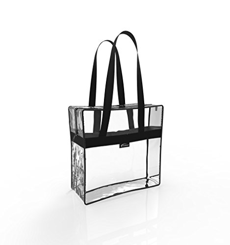 Trained Sports Clear Tote Bag NFL Stadium Approved, 12