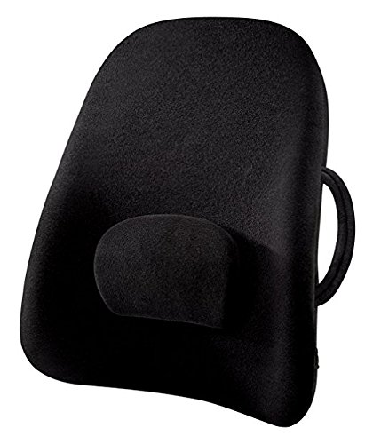 ObusForme Wideback Backrest Support Engineered For The Human Body, Removable & Adjustable Lumbar Support, Reduce Pressure On Your Back, Extra Wide For Broader Backs, S Shape Back Support