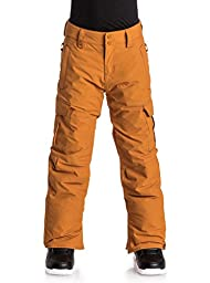 Quiksilver Boys Porter - Snow Pants Snow Pants Orange 16