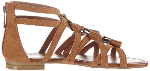 Aus Abierta Punta Mujer Sandals Preußen 023 Marrón Sandalias Fritzi nut 06 Con HqdZx4xw7