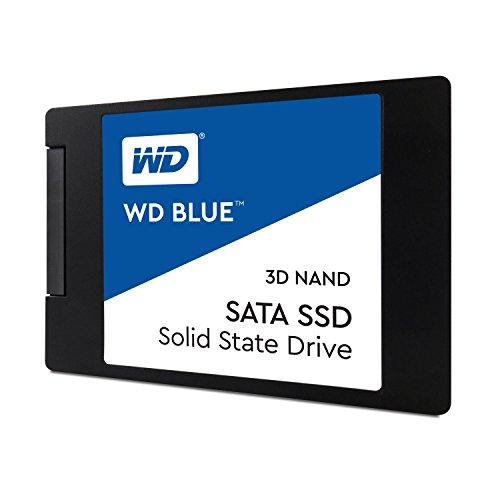 WD Blue 3D NAND 1TB PC SSD - SATA III 6 Gb/s 2.5''/7mm Solid State Drive - WDS100T2B0A by Western Digital (Image #1)