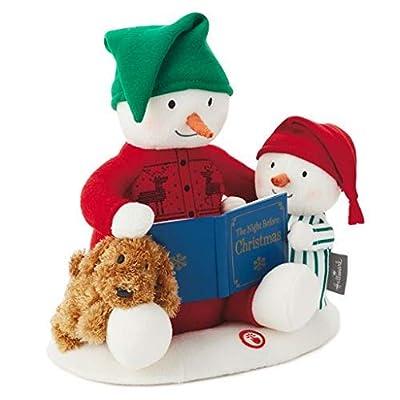 HMK Hallmark 2020 Storytime Snowman Interactive Techno Plush Singing Snowmen: Toys & Games