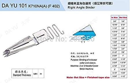 Cushy DAYU101 K710NA (A) (F 402), en ángulo Recto Binder/Carpeta ...