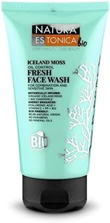 Natura Estonica Bio Face Wash Comb & Sensitive Skin Iceland Moss 150ml