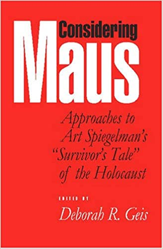 Amazon considering maus approaches to art spiegelmans considering maus approaches to art spiegelmans survivors tale of the holocaust revised edition fandeluxe
