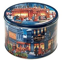 - Imported Danish Butter Cookies in Large Reusable Tin with Paintings