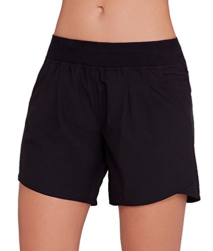 Calvin Klein Performance Pleat Front Cycling Shorts, XS, Black