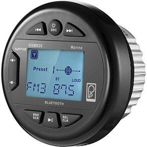 Poly-Planar GSMR20 AM/FM Bluetooth Gauge Series Marine ()