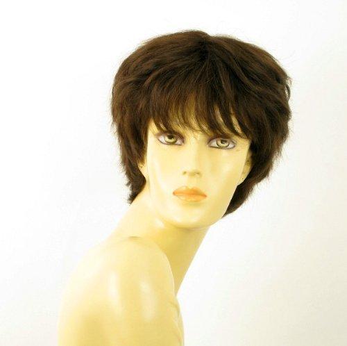 - WIG UNIVERS Woman Wig 100% Natural Chocolate Brown Hair Ref Sylvie 6