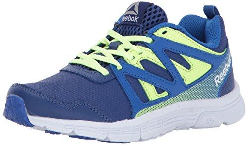 - Reebok Unisex Run Supreme 2.0 Sneaker, Vital Blue/deep Cobalt/el, 4 Child US Little Kid