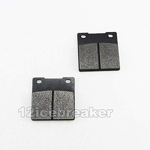- Clement-Store - Rear Brake Pad for Suzuki Hayabusa GSX1300R 99-07 TL1000R TL1000S Katana GSX600F GS750F 98-06 GS500 RF400R RF600R RF900R SV650