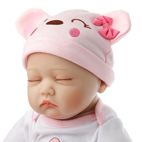 SanyDoll Reborn Baby Doll vinyl 22inch 55cm Lovely Lifelike